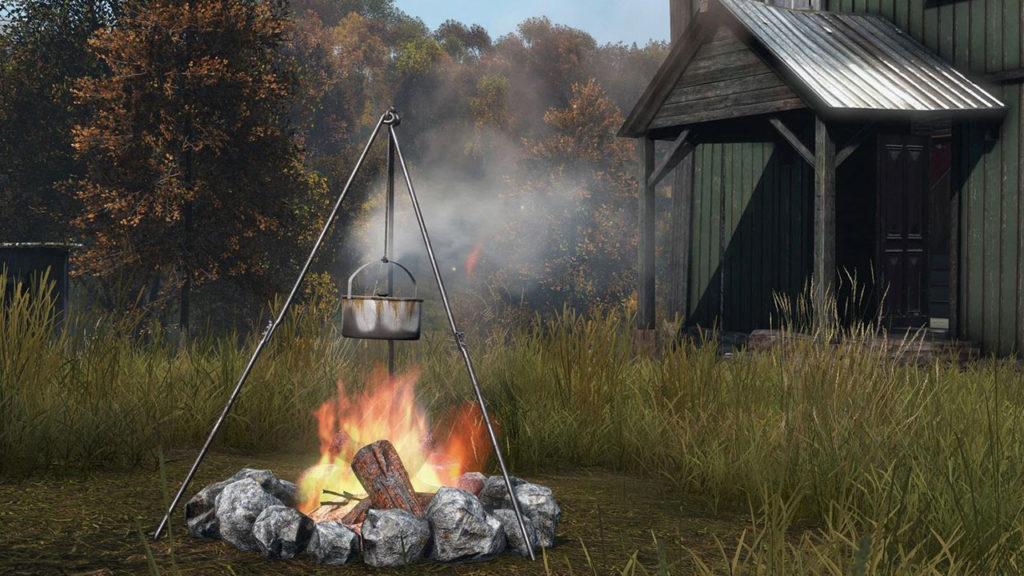 Wie man in DayZ ein Feuer macht