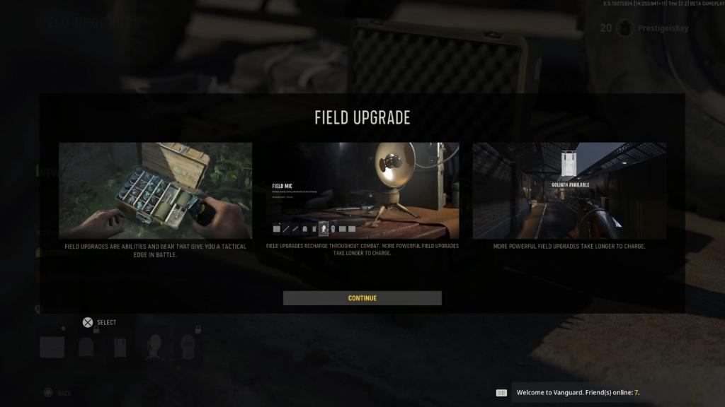 Call of Duty Vanguard-Feld-Upgrades