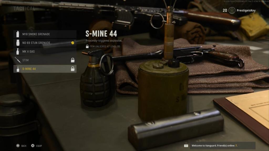 Call of Duty Vanguard Taktische Ausrüstung