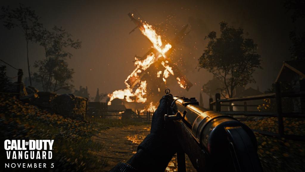 Call of Duty: Vanguard bietet überarbeitete Wettereffekte und eine neue Zerstörungsspielmechanik