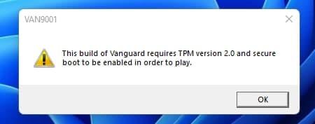 Bewertung des Windows 11 TPM 2.0 Secure Boot-Fehlers